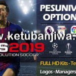 PES 2019 PS4 PES Universe Option File v1