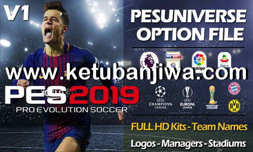 Download PES 2019 PES Universe Option File v1 For PS4 Ketuban Jiwa