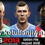 PES 2013 Summer Transfer Update 02/08/2018