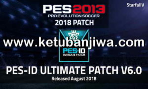PES 2013 PES-ID Ultimate Patch 6.0.1 Minor Update