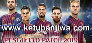 PES 2013 PESEdit 13.0 Patch 2019 Single Link