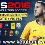 PES 2016 Next Season Patch 2019 AIO + Update Fix 1.0