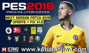 PES 2016 Next Season Patch 2019 AIO + Update Fix 1.0