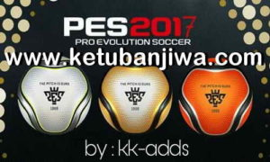 PES 2017 Ballpack 3 Balls From PES 2019