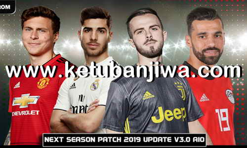 PES 2017 Next Season Patch 2019 AIO Update v3.0 by Micano4u Ketuban Jiwa