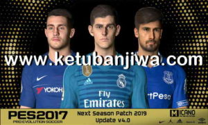 PES 2017 Next Season Patch 2019 Update 4.0