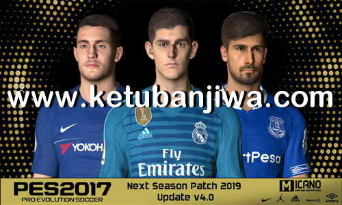 PES 2017 Next Season Patch 2019 AIO Update v4.0 by Micano4u Ketuban Jiwa