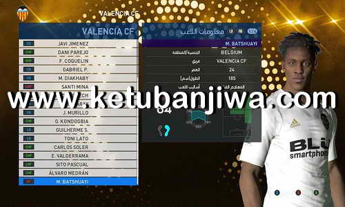 PES 2017 Option File Summer Transfer Player Update 11 August 2018 For PES Professionals Patch by Hatem Fathy Ketuban Jiwa