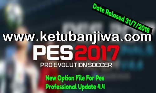 PES 2017 Option File Summer Transfer Update 31 July 2018 For PES Professionals Patch v4.4 by Ahmed0Mohamed Ketuban Jiwa