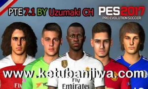 PES 2017 PTE 7.1 AIO Unofficial Big Update Season 18/19