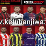 PES 2017 SMoKE Patch 9.8.4 Option File 05 August 2018