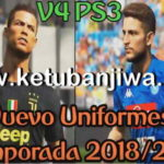 PES 2018 PS3 OFW Kitpack v4 New Season 2018/2019