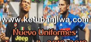 PES 2018 PS3 OFW Kitpack v4 New Season 2018/2019