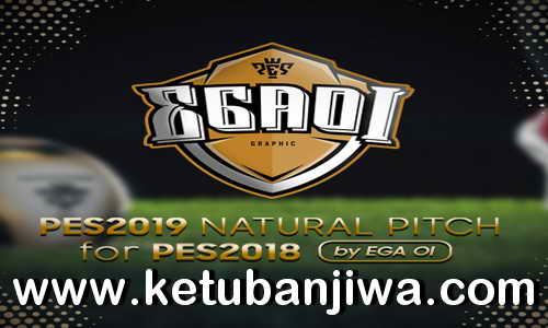 PES 2018 Natural Pitch + Turf + 3D Grass Like PES 2019 by EgaOi Ketuban Jiwa