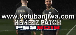 PES 2018 PS3 Nemeziz Patch 1.6 Minor Update 12/08/2018