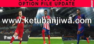 PES 2018 PTE 5.1 Option File + Mega Facepack Update 02/08/2018