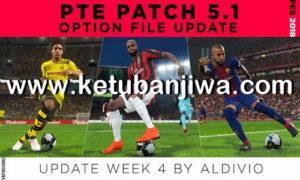 PES 2018 Option File Summer Transfer Update Week 4 For PTE Patch v5.1 by Aldivio Ketuban JIwa