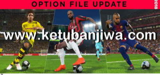 PES 2018 Option File Update Week 4 For PTE Patch 5.1