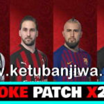 PES 2018 SMoKE Patch X23/X20 Option File 06/08/2018