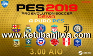 PES 2019 Demo APP Patch 3.00 AIO + Fix 3.01