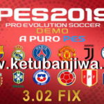 PES 2019 Demo APP Patch 3.02 Fix Update
