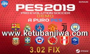 PES 2019 Demo APP Patch 3.02 Fix Updae Ketuban Jiwa