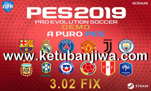 PES 2019 Demo APP Patch 3.02 Fix Updae Ketuban Jiwa