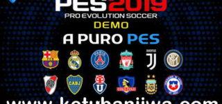 PES 2019 Demo APP Patch + Fix 1.01