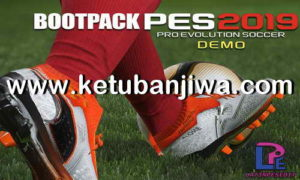 PES 2019 Demo Bootpack 33 Boots by Latinpesedit