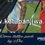 PES 2019 Demo Tattoos Pack by Sho
