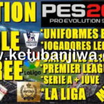 PES 2019 PS4 + PC Option Files 1.0 + Legends