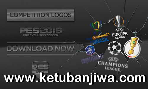 PES 2019 PS4 Competition Logos by PES World