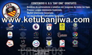 PES 2019 PS4 Day One Option File v0.5 Ketuban Jiwa