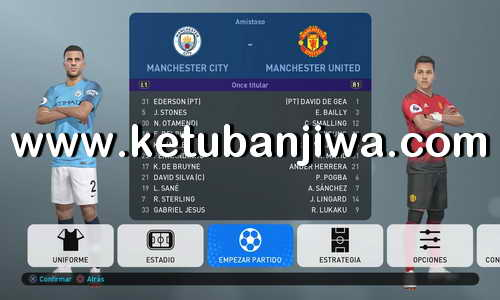 PES 2019 PS4 EPL Option File Real Kits + Names + Logos Ketuban Jiwa