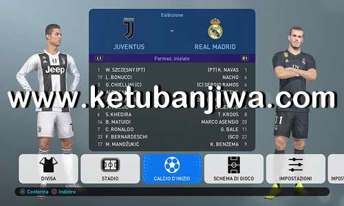 PES 2019 PS4 PESFan Option File v2 Ketuban Jiwa