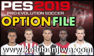 PES 2019 PS4 Pes Vício BR Option File v1 Ketuban Jiwa