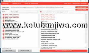 Download PES 2019 DpFileList Generator Tool v1.1 For DLC 1.03 by Baris