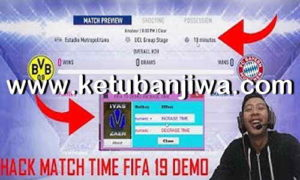 FIFA 19 Demo Increase Match Time Tool For PC by Iyaszaen Ketuban Jiwa