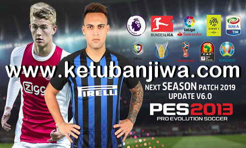 PES 2013 Next Season Patch 2019 Update v6.0 Ketuban Jiwa