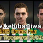 PES 2013 Option File Update Full Summer Transfer 2018