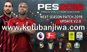PES 2016 Next Season Patch 2019 Update 2.0