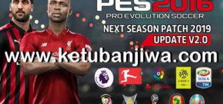PES 2016 Next Season Patch 2019 Update 2.0