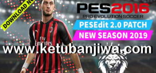 PES 2016 PESEdit Patch 2.0 AIO Season 2019