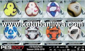 PES 2017 Big Ball Pack Season 18/19