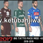 PES 2017 Next Season Patch 2019 Big Tattoo Pack
