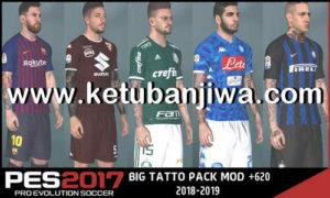 PES 2017 Next Season Patch 2019 Big Tattoo Pack