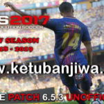 PES 2017 Unofficial PTE Patch 6.5.3 Update 02/09/2018