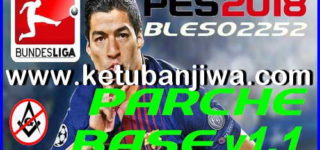 PES 2018 PS3 Base Patch 1.0 + 1.1 + Fix Season 2019