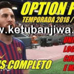 PES 2018 PS3 OFW Option File Season 18/19