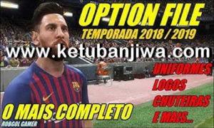 PES 2018 Option File Update 19 September 2018 Season 18-19 For PS3 OFW BLES + BLUS Ketuban Jiwa